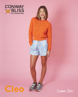 Openwork Raglan in C+B Cleo - Downloadable PDF