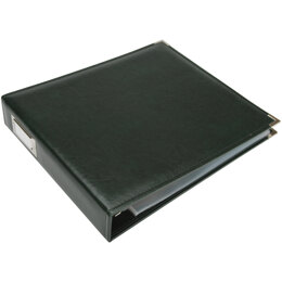 """We R Memory Keepers We R Classic Leather D-Ring Album 12""""X12"""" - Forest Green"""