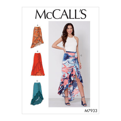 McCall's Misses' Skirts M7933 - Sewing Pattern