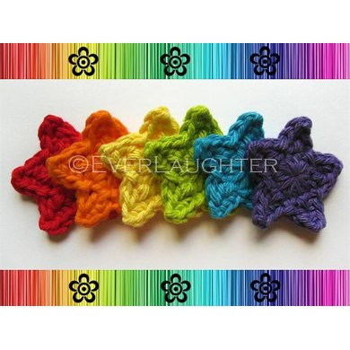 Star Applique Crochet Pattern By Everlaughter Crochet Patterns