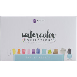 Prima Marketing Prima Watercolor Confections Watercolor Pans 12/Pkg - The Classics
