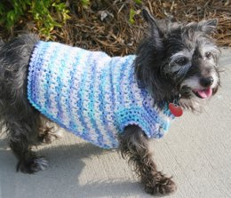 Dog Sweater in Red Heart Super Saver Economy Solids - WR1034