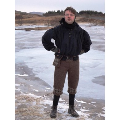 Viking Trousers with Belt Bag