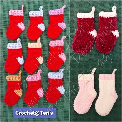 Amigurumi Mini Christmas Stockings