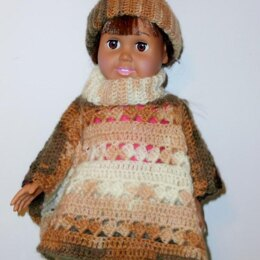 Dolly Poncho and Hat