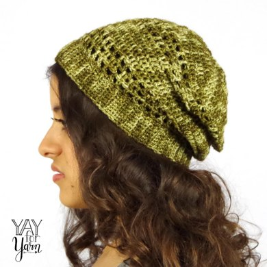 Dots & Dashes Slouchy Hat