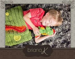 Dragon Tail Blanket and Buddy