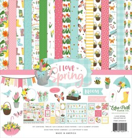 "Echo Park Paper Echo Park Collection Kit 12""X12"" - I Love Spring"