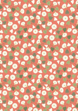Lewis & Irene Hedgerow Granny-pop-out-of-beds on Peachy Coral Cut to Length