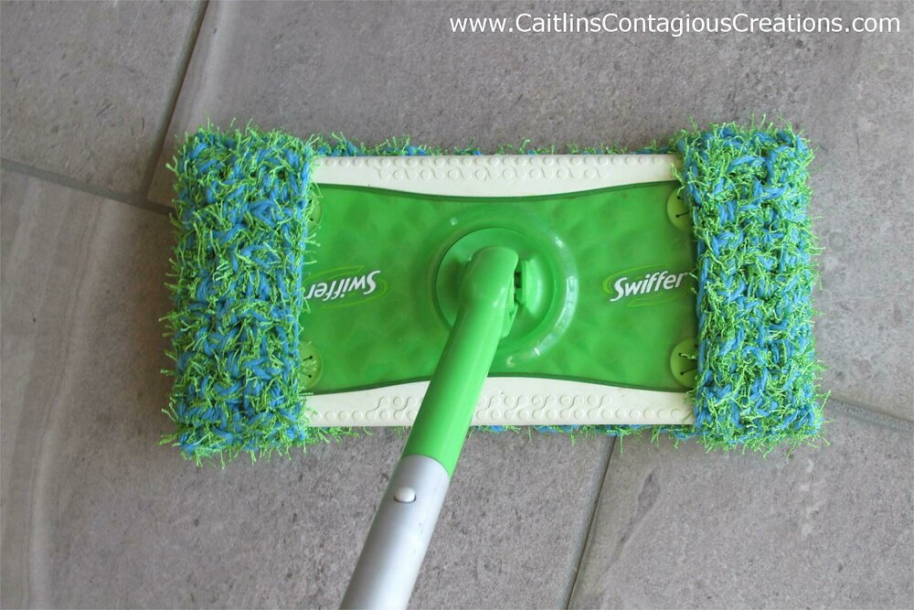 Scrubby Swiffer Pad Crochet Pattern By Caitlins Contagious Creations