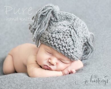 Baby Hat Little Star Knitting Pattern By Pure Hand Knits Knitting