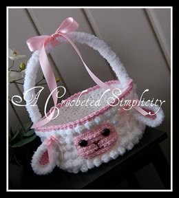 """Lily or Lyle"" the Lamb Easter Basket"
