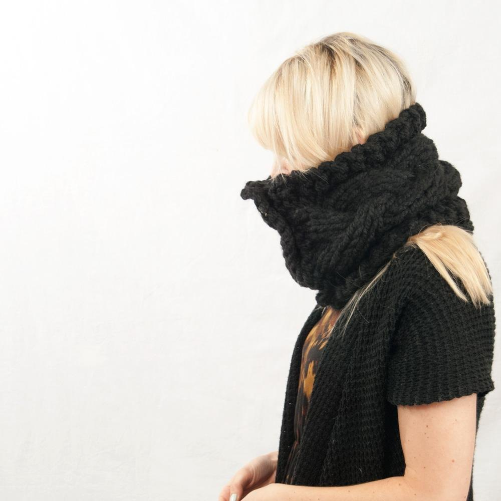 Braided Button Cowl Knitting pattern by Megan Williams   Knitting ...