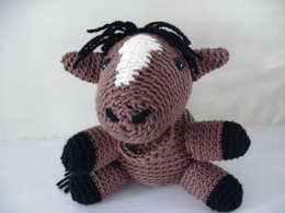 Amigurumi Everton the Horse