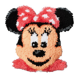 Vervaco Disney Minnie Mouse Latch Hook Rug Kit