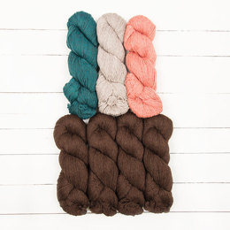 Cascade Yarns Flugeldar by Kiyomi Burgin - 7 Color Pack