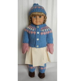 "18"" Doll Icelandic Set"