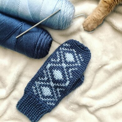 Diamond Backed Mitts