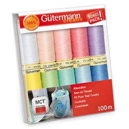 Gutermann Thread Set: Sew-All: 100m: Pack of 10 Assorted #2