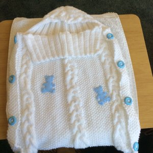 Dizzy S Baby Grow Bag Knitting Pattern By Deb