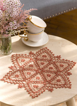 Fairfax Doily in Aunt Lydia's - LC4572 - Downloadable PDF