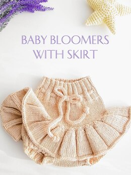 Baby Bloomers with skirt