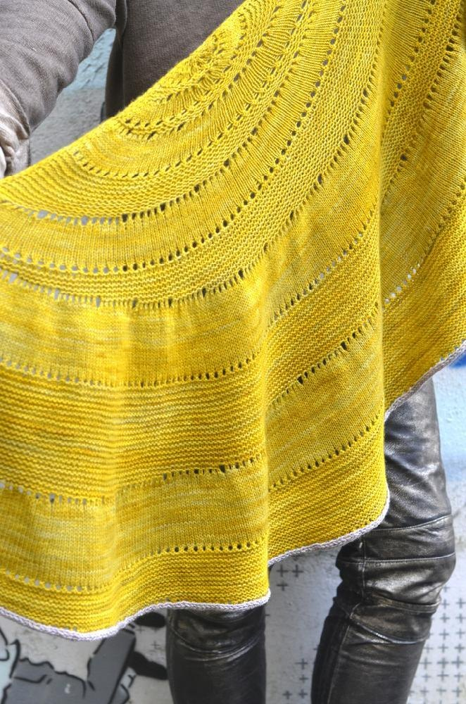 Glacier Sweep Knitting pattern by Stephen West | Knitting Patterns ...
