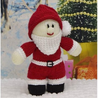 Young Santa Knitting Pattern By Knitting By Post