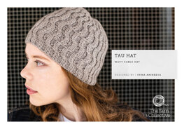 """Tau Hat by Irina Anikeeve"" - Hat Knitting Pattern For Women in The Yarn Collective"