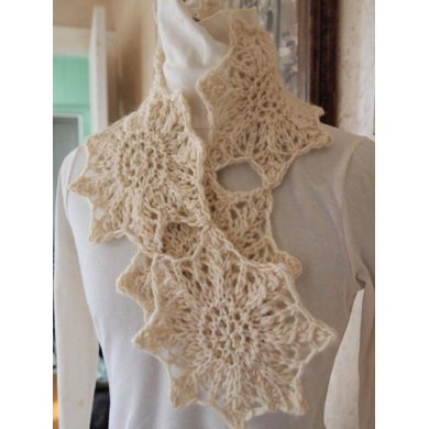 Snow Star Scarf