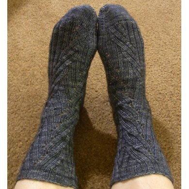 Coriolis Effect Socks