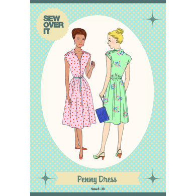 Sew Over It Penny Dress - Sewing Pattern