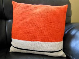 """Horizon"" cushion cover"