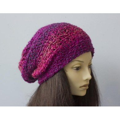 Chunky Slouchy Hat Crochet Pattern By Judith Stalus