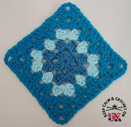 Tri-Tonal Traditional Granny Square