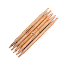 "Hiya Hiya Bamboo double Points 5"" 12cm Double Pointed Needle 12cm (5"") (Set of 5)"