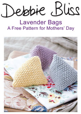 Lavender Bags in Debbie Bliss Eco Baby
