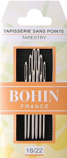 Bohin Tapestry Needles Size 18/22