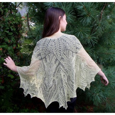 Back to the Garden Shawl
