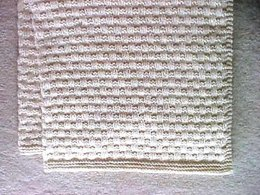 Square Dots Afghan