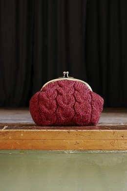 Macaroon Knitted Purse