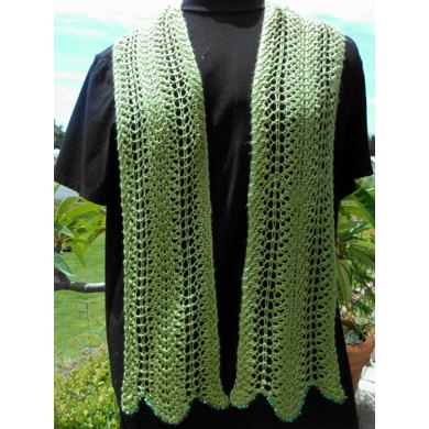 Easy Light and Breezy Lace Scarf