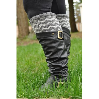 Chevron Boot Cuffs