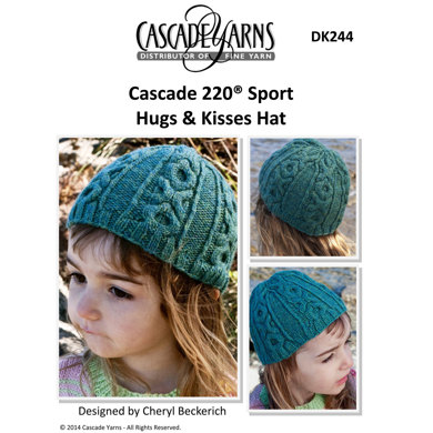 Hugs & Kisses Hat in Cascade 220 Sport - DK244 Knitting ...