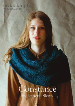 Constance Cowl in Erika Knight British Blue 100 - Downloadable PDF