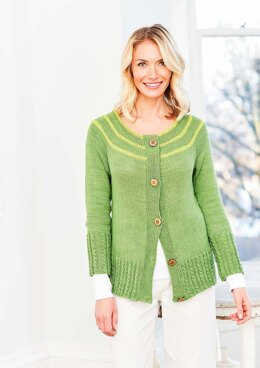 Sweater and Cardigan in Stylecraft Naturals Bamboo & Cotton DK - 9755 - Downloadable PDF