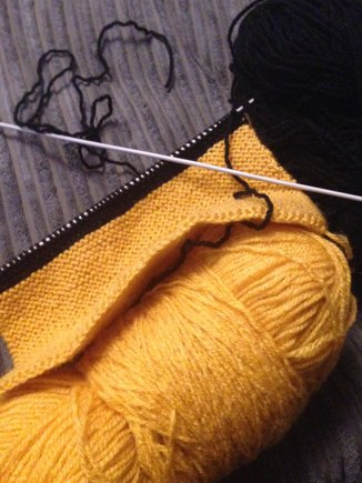 Hufflepuff Scarf Knitting Project By Michelle H Loveknitting