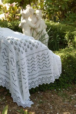 Great Barrier Reef Lace Shawl