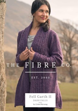 Dash Falls Jacket in The Fibre Co. Arranmore Light - Downloadable PDF