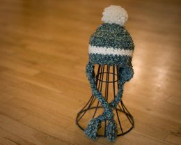 One Stripe Baby Hat Pattern Quick and Easy